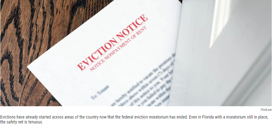 Picture of an eviction notice